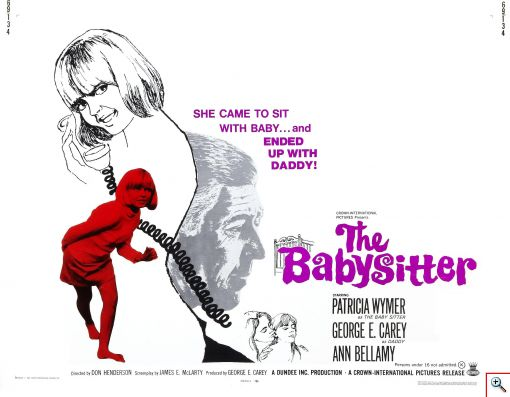The Babysitter 1969 - Click to View Larger...