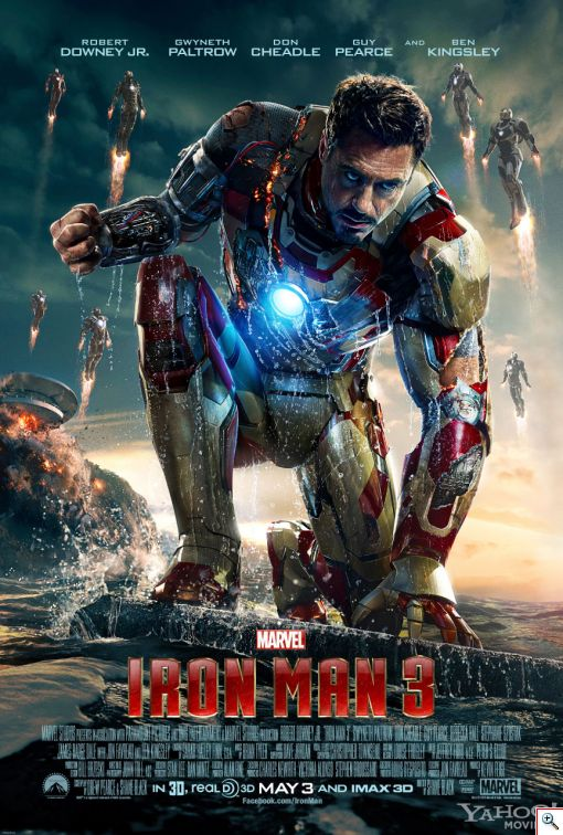 Iron Man 3 Poster - Click to View Larger