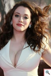 Kat Dennings - Click to View Larger... Yes, both of them.