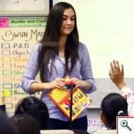 Sasha Grey Reads to the Class