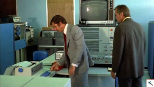 How did they get into the server room of Big Bad Drive-In?